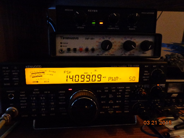 Kenwood TS-590SG Audio Setup